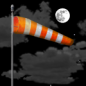 Tuesday Night: Increasing clouds, with a low around 69. Windy, with a south wind 15 to 25 mph, with gusts as high as 30 mph.
