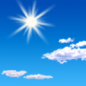 This Afternoon: Sunny, with a high near 62. Northwest wind 5 to 10 mph, with gusts as high as 20 mph.